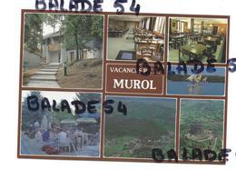 CPM - MUROL (63) VACANCES P. T. T. (PTT) - L'entrée, La Salle à Manger, Le Bar, La Terrasse, Lac, Vue Générale, Chateau - France