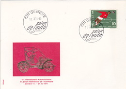Salon De L'auto 1971(br3914) - Briefe U. Dokumente