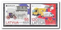 Letland 2013, Postfris MNH, Europe, Cept, Transport - Letland