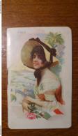 Calendarietto Da Barbiere Illustrato 1920 Bellet Sénès Courmes - Formato Piccolo : 1901-20
