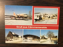 AK  AERODROME  AIRPORT CÄMMERSWALDE - Aerodrome