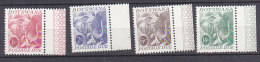 A0113 - BOTSWANA TAXE Yv N°18/21 ** ANIMAUX ELEPHANT - Botswana (1966-...)