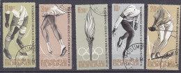 A0118 - BURUNDI Yv N°75/79 OLYMPIADES - Burundi