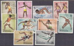 A0119 - BURUNDI Yv N°102/11 OLYMPIADES - Burundi