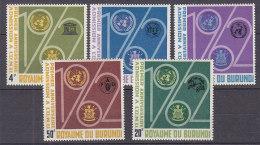 A0125 - BURUNDI Yv N°64/68 + BF ** ONU - Burundi
