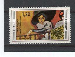 FRANCE - Y&T N° 1841** - Europa - Femme à La Balustrade De Van Dongen - Unused Stamps