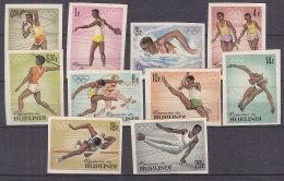 A0128 - BURUNDI Yv N°102/11 ND ** OLYMPIADES - Burundi
