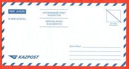 Kazakhstan 2002.  Envelope New. Envelope Paid Answer. Very Very Rare. - Kazakhstan
