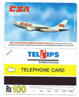 PAKISTAN 4 - 100Rs CSA Air Lines Avion Fly Plane 1994 MINT URMET NEUVE - Pakistan