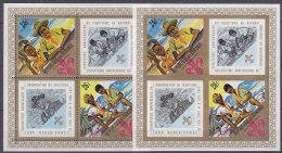 A1169 - BURUNDI BF Yv N°22 + ND ** SCOUTISME - Burundi