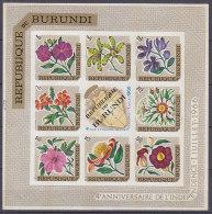 A1174 - BURUNDI BF Yv N°17 ND ** FLEURS ( Registered Shipment Only ) - Burundi