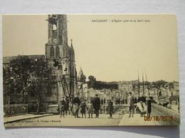 CPA 54 BACCARAT - L'église Aprés Le 25 Aout 1914 - Guerre 1914/18 - Baccarat