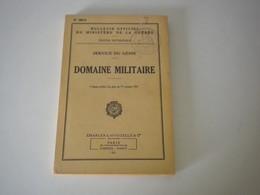 MANUEL De 1951 SERVICE DU GÉNIE - DOMAINE MILITAIRE - Equipement