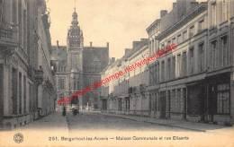 Borgerhout - Maison Communale - Rue Eliaerts - G. Hermans 251 - Antwerpen - Antwerpen