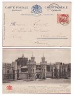 Bruxelles Brussel Leopold II 10 Ct Cent Centimes Prison Gevangenis St Saint Gilles (In Zeer Goede Staat) - 1905 Grosse Barbe