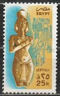 Egitto 1978 - Statue Of Akhenaten (Amenophis IV), Theben - Statue - Posta Aerea
