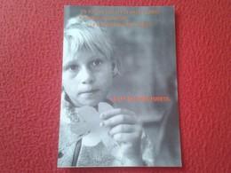 TARJETA POSTAL POST CARD POSTCARD CARTE POSTALE ACNUR  50 ANIVERSARIO DECLARACIÓN UNIVERSAL DERECHOS HUMANOS KOSOVO VER - Historia