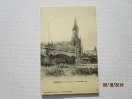 CPA 54 BACCARAT - L'église  Bombardée 25 Aout 14 Et Le Grand Pont 12 Septembre 1914 - Baccarat