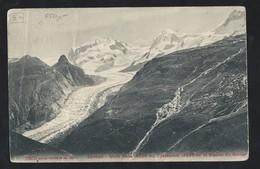 316d.Zermatt. Monte Rosa. Horner Glacier. The Post Of 1929 Passed. Kharkov Belikov.  Machine Stamp. - 1923-1991 URSS