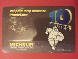MICHELIN Pneu Voiture Prepaid Canada Telecom OTN No Pin - Phonecards