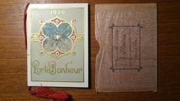 "Calendarietto Profumato ""Porte Bonheup"" 1924 Bellet Sènès & Courmes - Formato Piccolo : 1921-40"