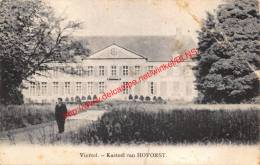 Kasteel Van Hovorst - Viersel - Zandhoven - Zandhoven