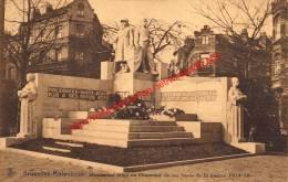Monument érigé En L'honneur De Ses Héros De La Guerre 1914-18 - St-Jans-Molenbeek - Molenbeek-St-Jean - Molenbeek-St-Jean - St-Jans-Molenbeek