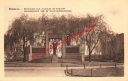 Gedenkteken Aan De Loopgraafkanonniers - Etterbeek - Etterbeek