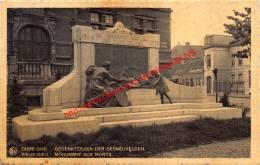 Gedenksteen Der Gesneuvelden - Oude-god - Mortsel - Mortsel