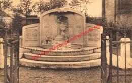 Le Monument - Gouy-lez-Pieton - Courcelles