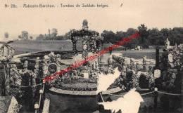 Tombes De Saldats Belges - Rabosée - Blegny