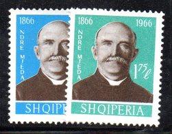 311 - 490 - ALBANIA 1966 ,    Yvert N. 943/944  ***  Mjeda - Albania