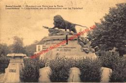 Gedenkteken Aan De Gesneuvelden - Leopoldsburg - Leopoldsburg