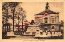 Monument Aux Morts - Leopoldsburg - Leopoldsburg