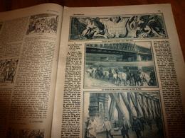 1919  LES ANNALES:Kehl,Rudesheim,Mayence(Mainz),Coblentz,St-Goar,Cologne;HANSI; Camille Saint-Saens;Poésie LE RHIN;etc - Autres