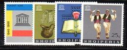 314 - 490 - ALBANIA 1966 ,    Yvert N. 939/942  ***  Unesco - Albania