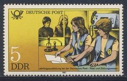 DDR Germany 1981 Mi 2583 YT 2241 ** Lehrlingsausbildung Im Post- Und Zeitungswesen / Counter Clerks - Post