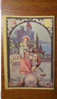 Calendarietto Scena Di Seduzione E Corteggiamento  1932 Art Decò - Formato Piccolo : 1921-40