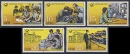 DDR Germany 1981 Mi 2583 /7 YT 2241 /5 ** Post Office Training  //  Bildungseinrichtungen Der Deutschen Post - Post