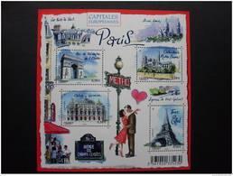 F4514 CAPITALES EUROPEENNES. PARIS - Bloc De Notas & Hojas