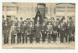 Maasmechelen  *  Mechelen A/Maas - De Fanfare-societeit Van Geulle Op Het Vaandelfeest 5 Mei 1912 - Maasmechelen