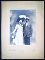 Ritratto Di Una Coppia Di Signori - Intra, Caccia, Ca. 1910. - Foto
