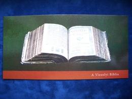 Bible, PC+stamps, Hungary, Reformation 500, Gaspar Karoli, Christianity, 2017, 1990 - Christianity