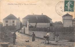 21 - COTE D'OR / 217412 - Orain - Rue De L' Abreuvoir - Beau Cliché Animé - Défaut - Francia