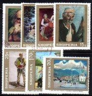 322 - 490 - ALBANIA 1968 ,    Yvert N. 1108/1114 Usata Con Gomma - Albania