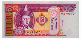 MONGOLIA 20 TUGRIK 2002 Pick 63b Unc - Mongolie