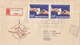 Hongarije - FDC 04-10-1959 - Einschreiben/Recommande Budapest 4 - Internationale Briefwoche - M1628A - FDC