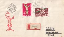 Hongarije - FDC 04-04-1960 - Einschreiben/Recommande Budapest 4 - 15. Jahrestag Der Befreiung - M1678A-1679A - FDC