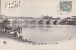 Bp - Cpa LE BLANC (Indre) - Le Pont - Le Blanc