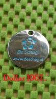 Shopping Carts / Winkelwagentjes / Jeton De Caddie -  Netherlands  -  De Scheg Deventer - Trolley Token/Shopping Trolley Chip